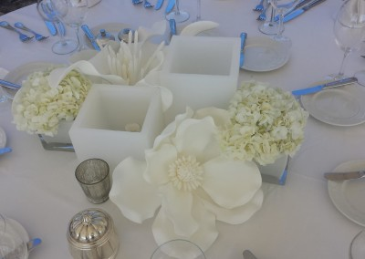 Floral Centre Pieces & Wax Votives