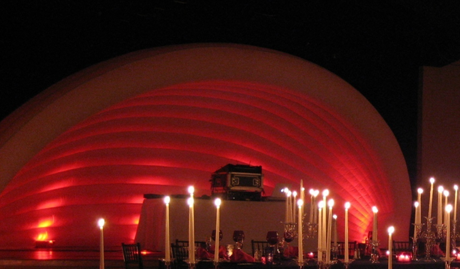 Inflatable Band Shell