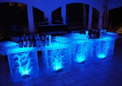 Lighted Serpentine Bar