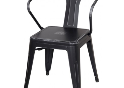 Black Metal Chairs