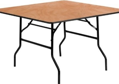 5 ft wooden table
