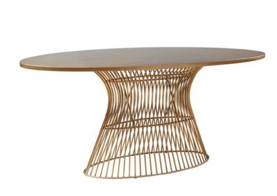 Gold Oval Tables