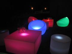 Pod Furniture- All white without lighting