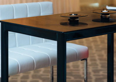 Black Hightop Tables